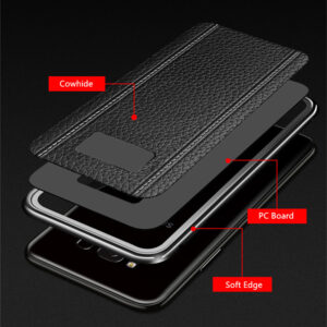 All-inclusive Real Protective Leather Case For Samsung S9 S8 Plus SG809_7