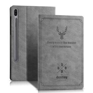 Luxury Retro Style Leather Samsung Galaxy Tab S6 Cover SGTC06