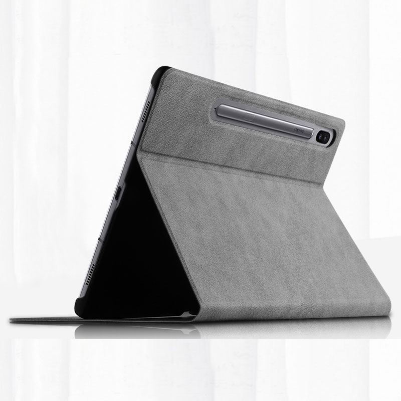Leather Samsung Galaxy Tab S3 Case Cover With Card Holder And Pen Cap SGTC06_6