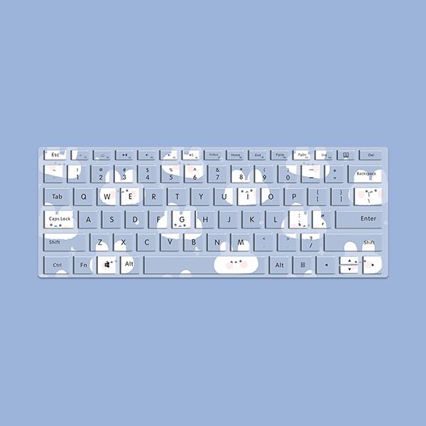 "Perfect Surface Book 2 13.5"" Protective Keyboard Skin MKC04_4"
