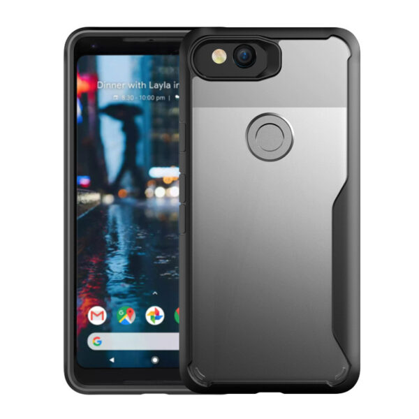 Protective Transparent Back Google Pixel 2 And XL Case Cover GPC06
