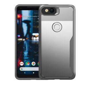 Protective Transparent Back Google Pixel 2 And XL Case Cover GPC06_2