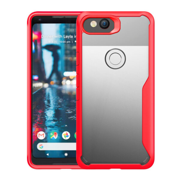 Protective Transparent Back Google Pixel 2 And XL Case Cover GPC06_3
