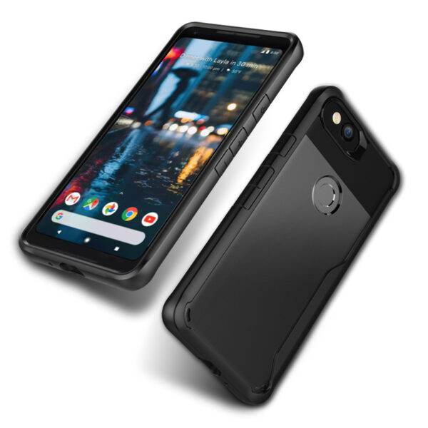 Protective Transparent Back Google Pixel 2 And XL Case Cover GPC06_6