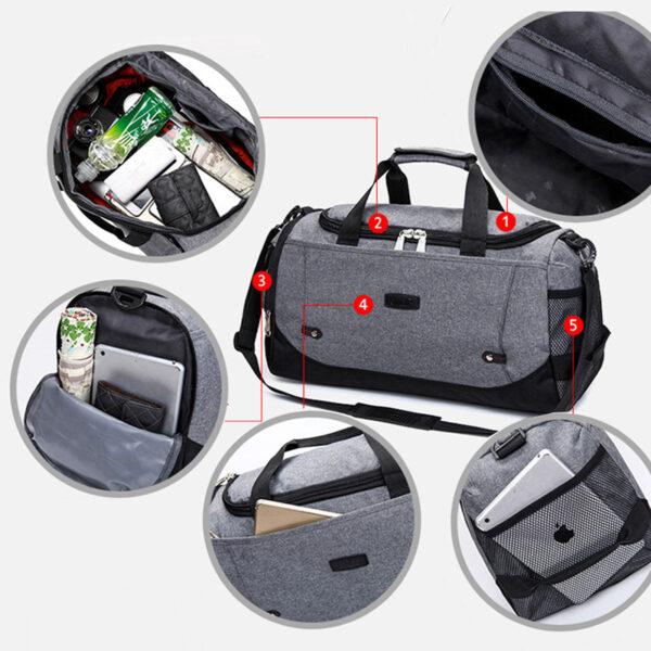 Large Capacity Luggage Waterproof Travel Boarding Bag MFB16_7