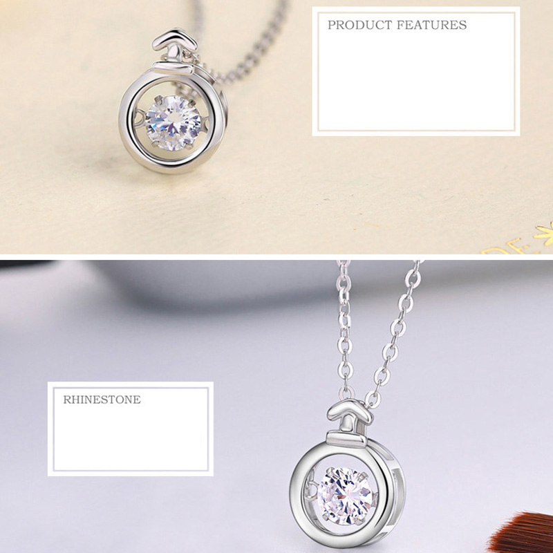 Twelve Constellations 100% Silver Necklace For Girlfriend Wife NLC15_7
