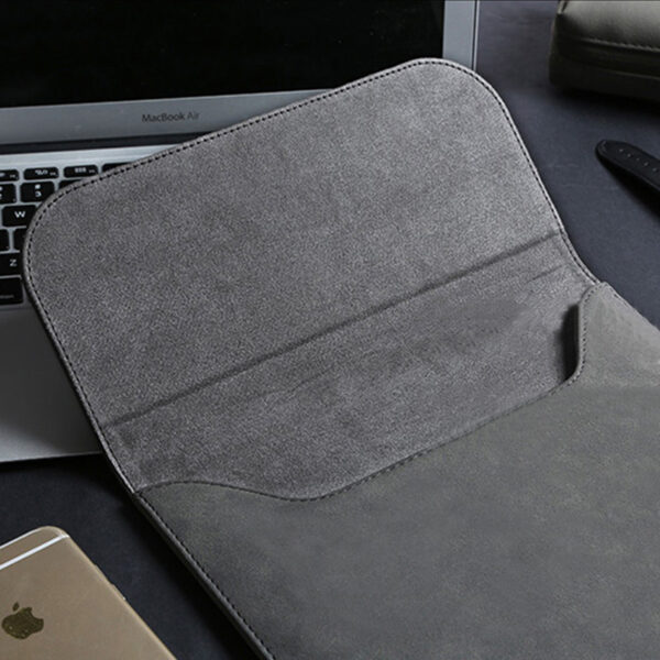 Leather Surface Pro 5 4 3 Laptop Bag Cover With Small Bag SPC12_7