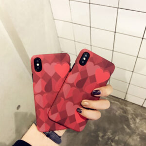 Love Pattern Case Cover For iPhone X 8 7 6 Plus IPS111