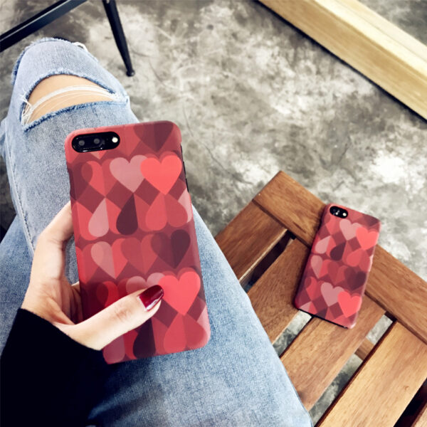 Love Pattern Case Cover For iPhone X 8 7 6 Plus IPS111_2