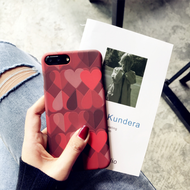 Love Pattern Case Cover For iPhone X 8 7 6 Plus IPS111_4