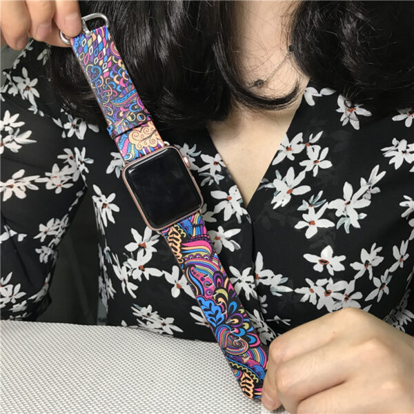 Perfect Totem Pattern Leather Apple Watch Series 1 2 3 4 Band AWB09_5