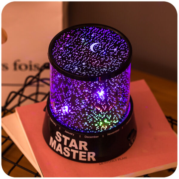Romantic Starlight Projector Bedroom Sleep USB Nightlight USL03