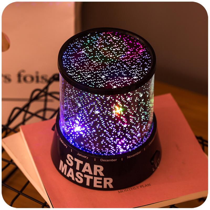 Romantic Starlight Projector Bedroom Sleep USB Nightlight USL03_2