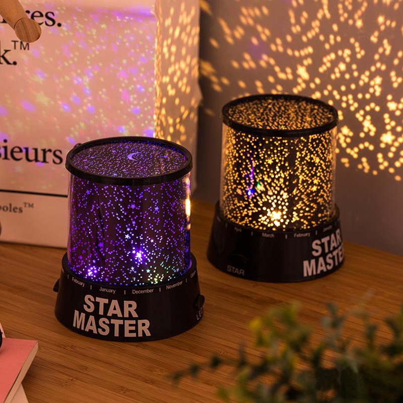 Romantic Starlight Projector Bedroom Sleep USB Nightlight USL03_6