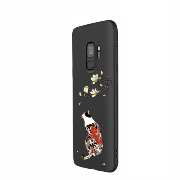 3D Relief Soft Case Cover For Samsung S9 And Plus SG905_2