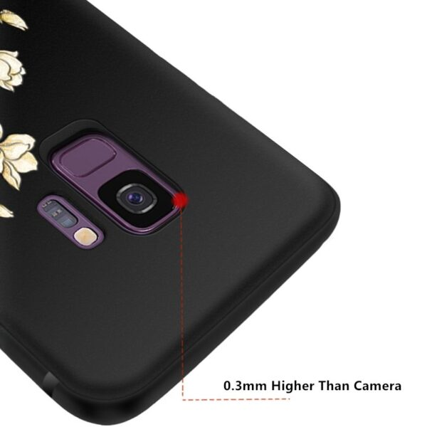 3D Relief Soft Case Cover For Samsung S9 And Plus SG905_6