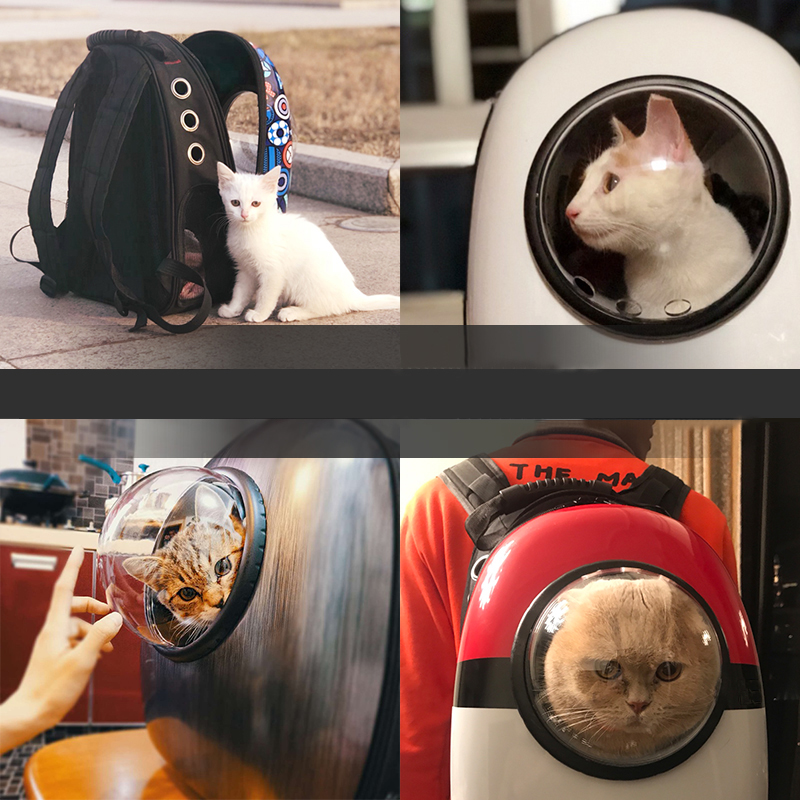 Cat Dog Pet Carrying Shoulder Bag Backpack For Traveling MFB17_5