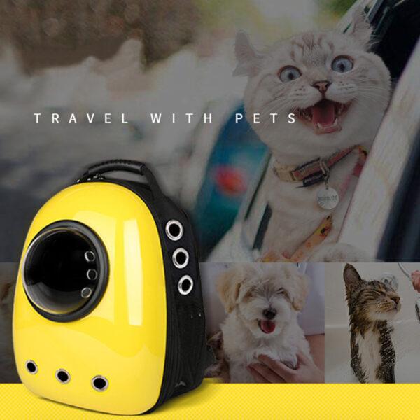 Cat Dog Pet Carrying Shoulder Bag Backpack For Traveling MFB17_6