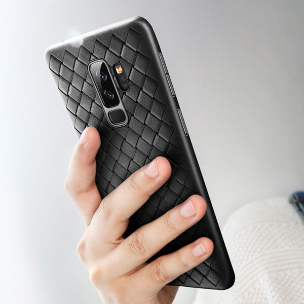 Perfect Weave Samsung S9 And Plus Soft Case Cover SG901