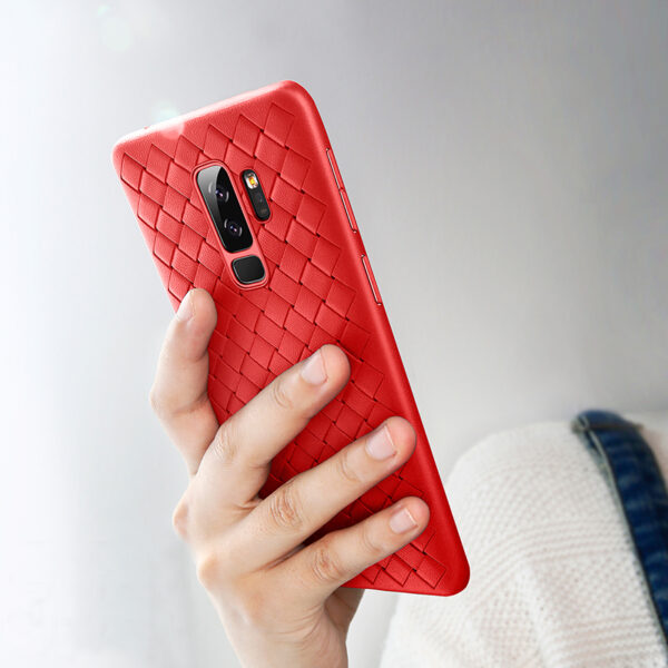 Perfect Weave Samsung S9 And Plus Soft Case Cover SG901_3