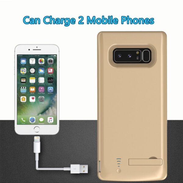 Perfect Samsung S9 S8 Plus Note 8 10000 mAh Charger Case Cover IPGC12_4