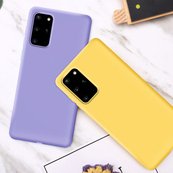 Creative Silicone Diamond Samsung S9 S8 Plus Case With Stand SG906