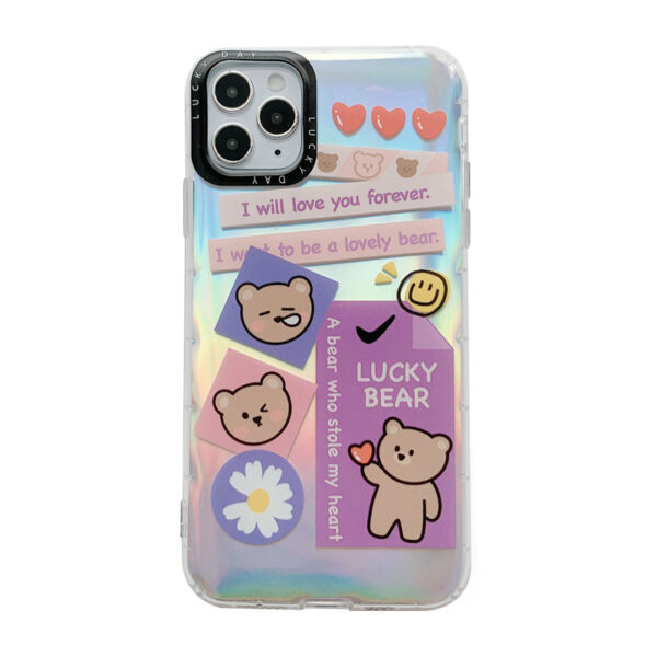 Creative Protective Silicone iPhone 12 11 XS Max 8 7 Plus Case IPS112