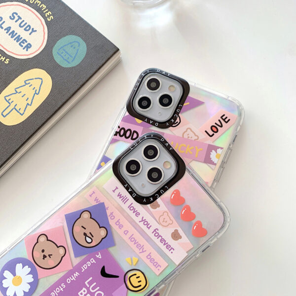 Creative Protective Silicone iPhone 12 11 XS Max 8 7 Plus Case IPS112_3