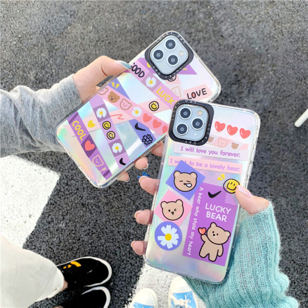 Creative Protective Silicone iPhone 12 11 XS Max 8 7 Plus Case IPS112_5