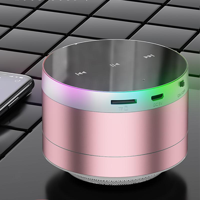 Wireless Bluetooth Speaker Mini Speaker Metal Subwoofer BTE09_2