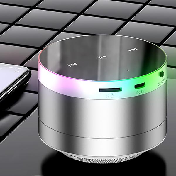 Wireless Bluetooth Speaker Mini Speaker Metal Subwoofer BTE09_4