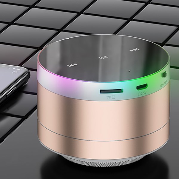 Wireless Bluetooth Speaker Mini Speaker Metal Subwoofer BTE09_5
