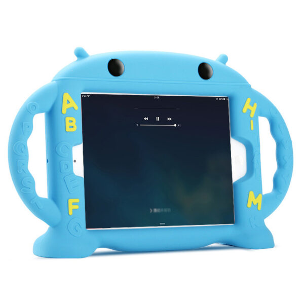 Cartoon Robot Silicone Case For iPad Mini Air Pro 9.7 10.5 Inch IPFK08