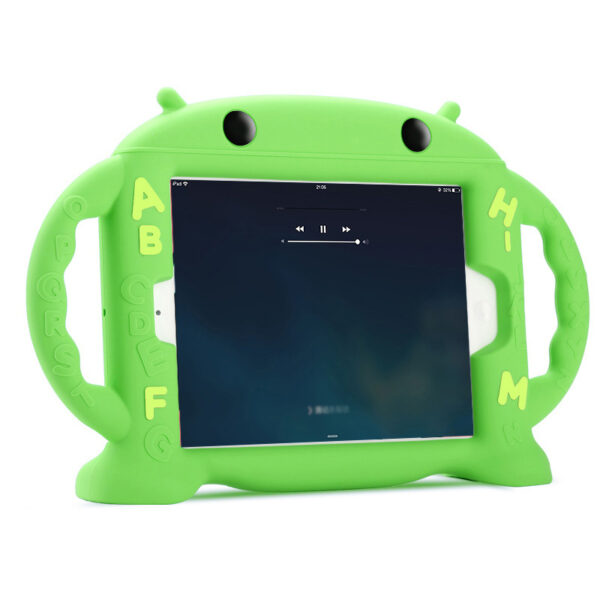 Cartoon Robot Silicone Case For iPad Mini Air Pro 9.7 10.5 Inch IPFK08_3
