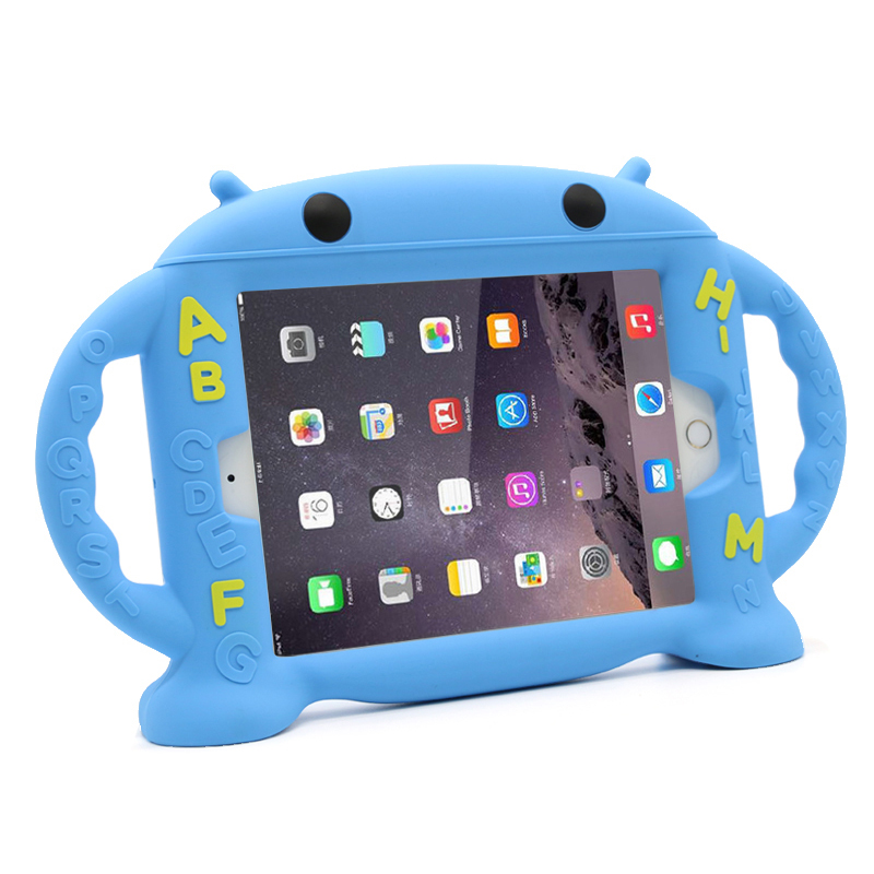 Cartoon Robot Silicone Case For iPad Mini Air Pro 9.7 10.5 Inch IPFK08_4