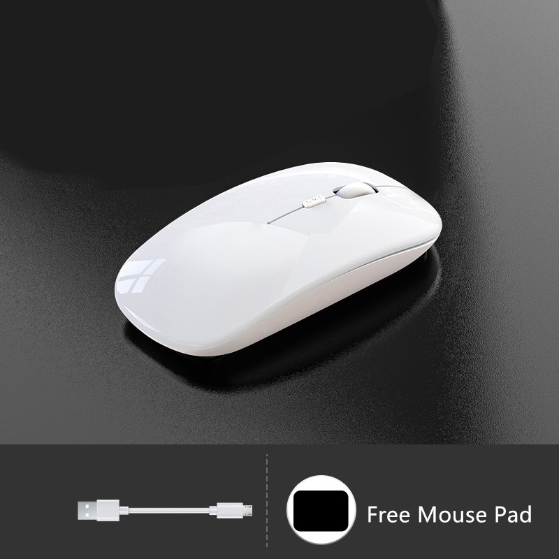 Comfortable Laptop Notebook Wireless Mouse Bluetooth Optical Mouse PMS01