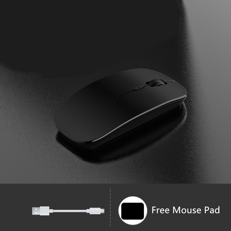 Comfortable Laptop Notebook Wireless Mouse Bluetooth Optical Mouse PMS01_3