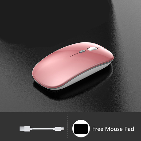 Comfortable Laptop Notebook Wireless Mouse Bluetooth Optical Mouse PMS01_4