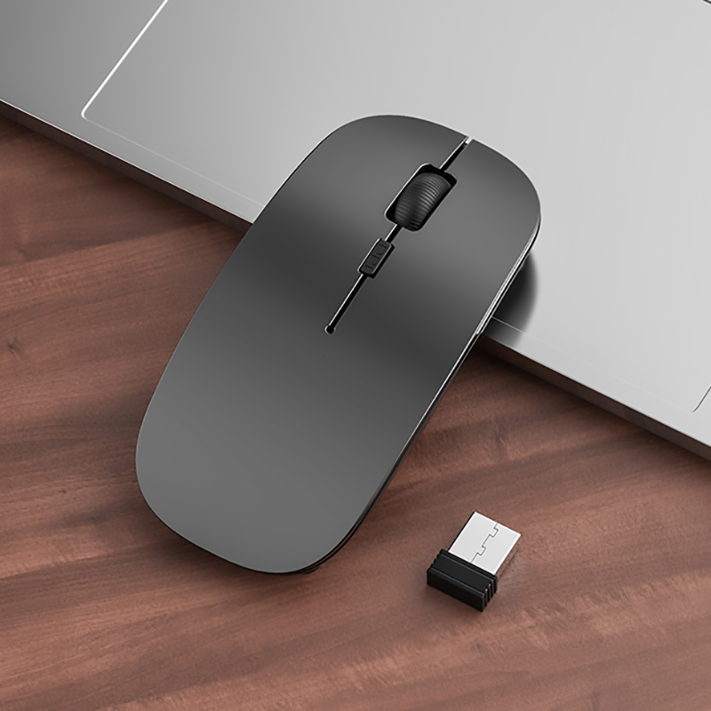 Comfortable Laptop Notebook Wireless Mouse Bluetooth Optical Mouse PMS01_5