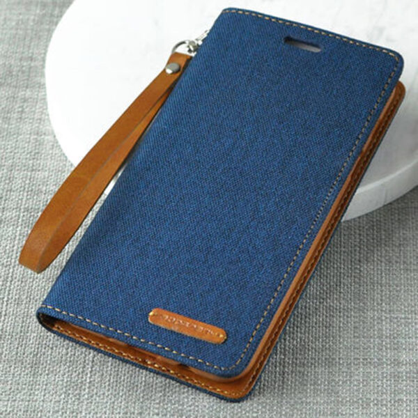 Leather Clamshell Case Cover For Samsung S9 And Plus With Lanyard SG907_3