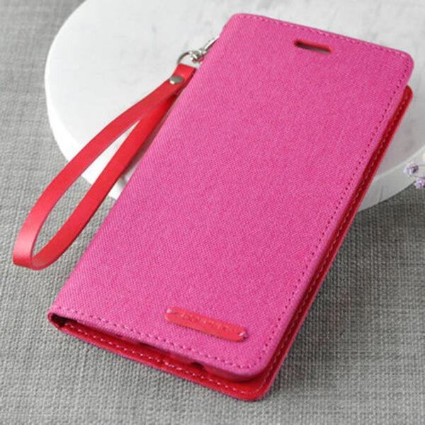 Leather Clamshell Case Cover For Samsung S9 And Plus With Lanyard SG907_4