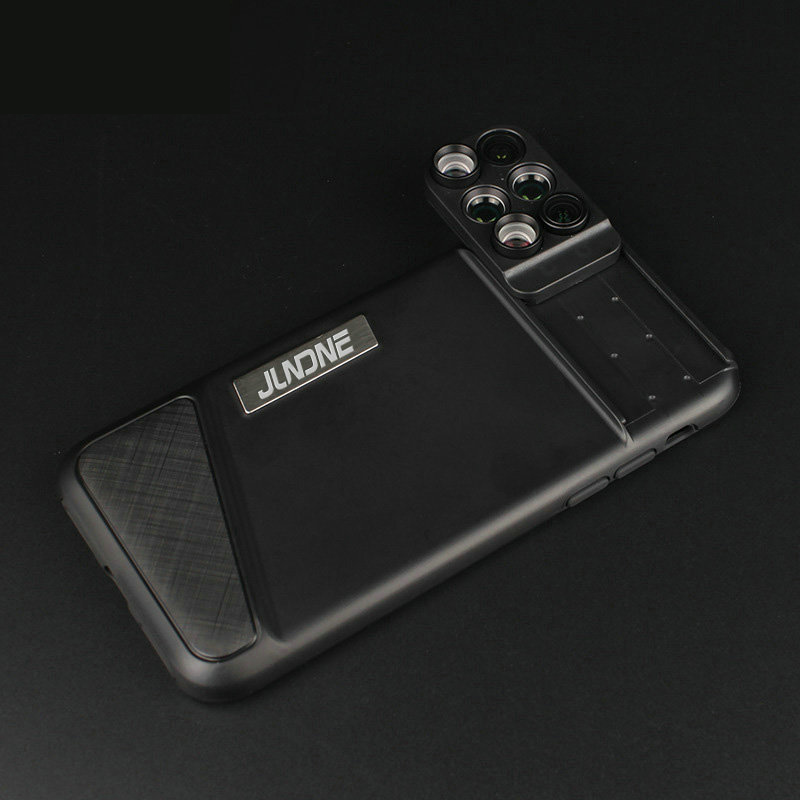 6 Functional Lens In One Case Cover For iPhone X XS PHE09_3
