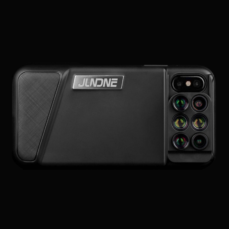6 Functional Lens In One Case Cover For iPhone X XS PHE09_4