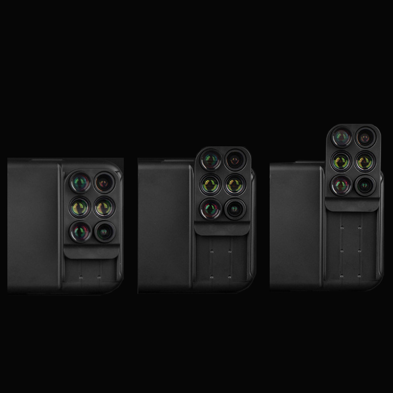 6 Functional Lens In One Case Cover For iPhone X XS PHE09_6