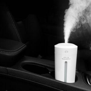 Car Air Purifier Humidifier Mini Oxygen Bar With 7 Color HMD01