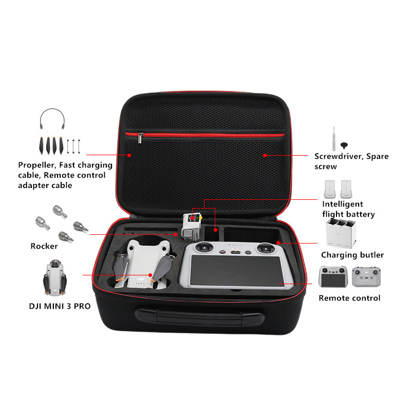 DJI Mavic Pro Backpack Waterproof Storage Suitcase MFB19_4