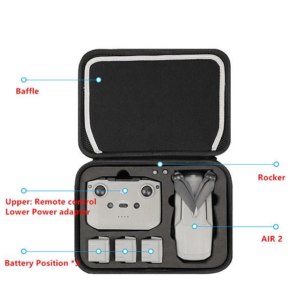 DJI Phantom 4 Pro 3 Pro Advanced Standard Backpack Canvas Bag MFB18