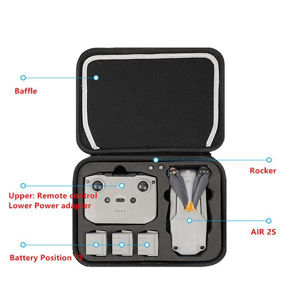 DJI Phantom 4 Pro 3 Pro Advanced Standard Backpack Canvas Bag MFB18_2