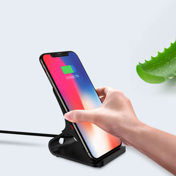 Wireless Base Charger For iPhone X 8 Plus Samsung S10 9 8 Note ICD08_5