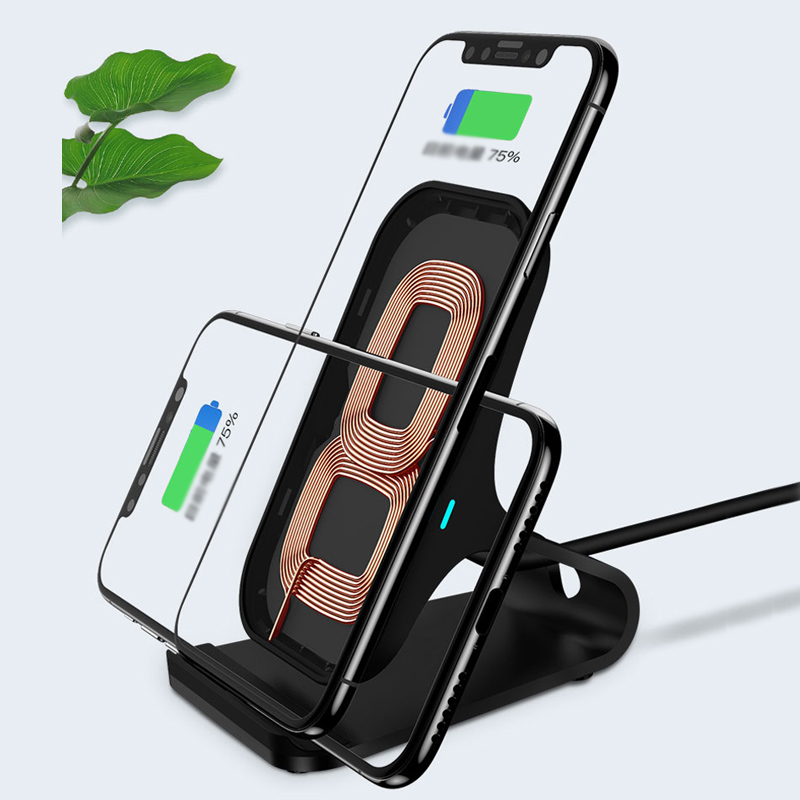 Wireless Base Charger For iPhone X 8 Plus Samsung S9 8 7 6 Note ICD08_6